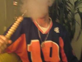 Ich am Smoken