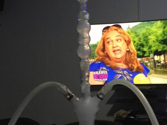 Neue G-Spot Rauchsäule