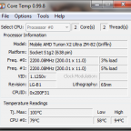 Mein toller HP Laptop nach 10min vollast...